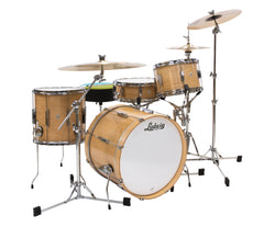 Ludwig Club Date Downbeat 3-Piece Shell Pack in Natural Satin