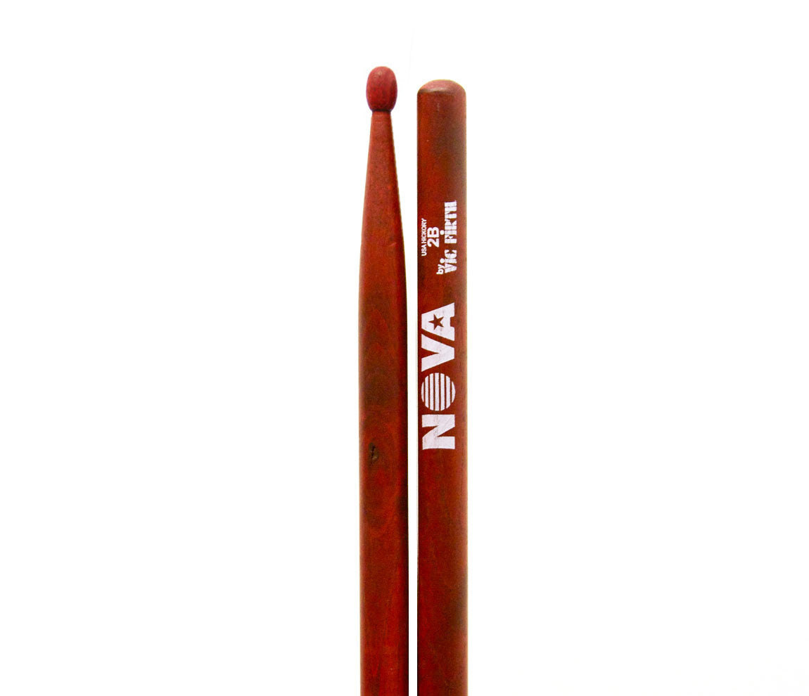 Vic Firth Nova 2B Wood Tip Drumsticks