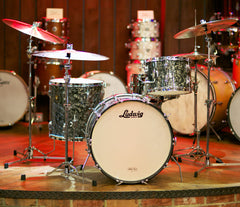 Oasis - Vintage Ludwig 1965 3-Piece in Black Diamond Pearl