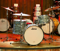 Oasis - Vintage Ludwig 1965 3-Piece in Blue Oyster Pearl