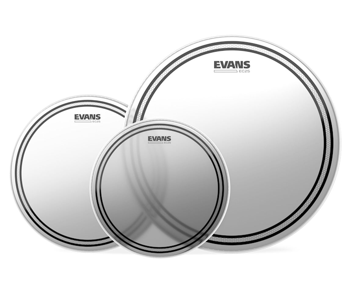 Evans EC2 Rock Coated Tom Pack
