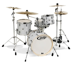 PDP New Yorker 4-Piece Jazz Drum Kit in Diamond Wrap
