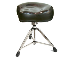 Pork Pie Big Boy Black Sparkle Drum Throne with Base