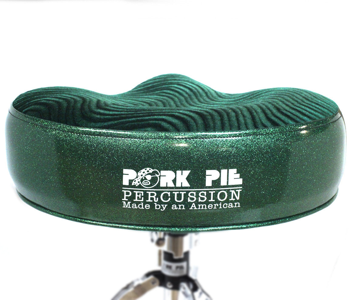 Pork Pie Green Drum Throne