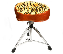 Pork Pie Big Boy Tiger Drum Throne with Base
