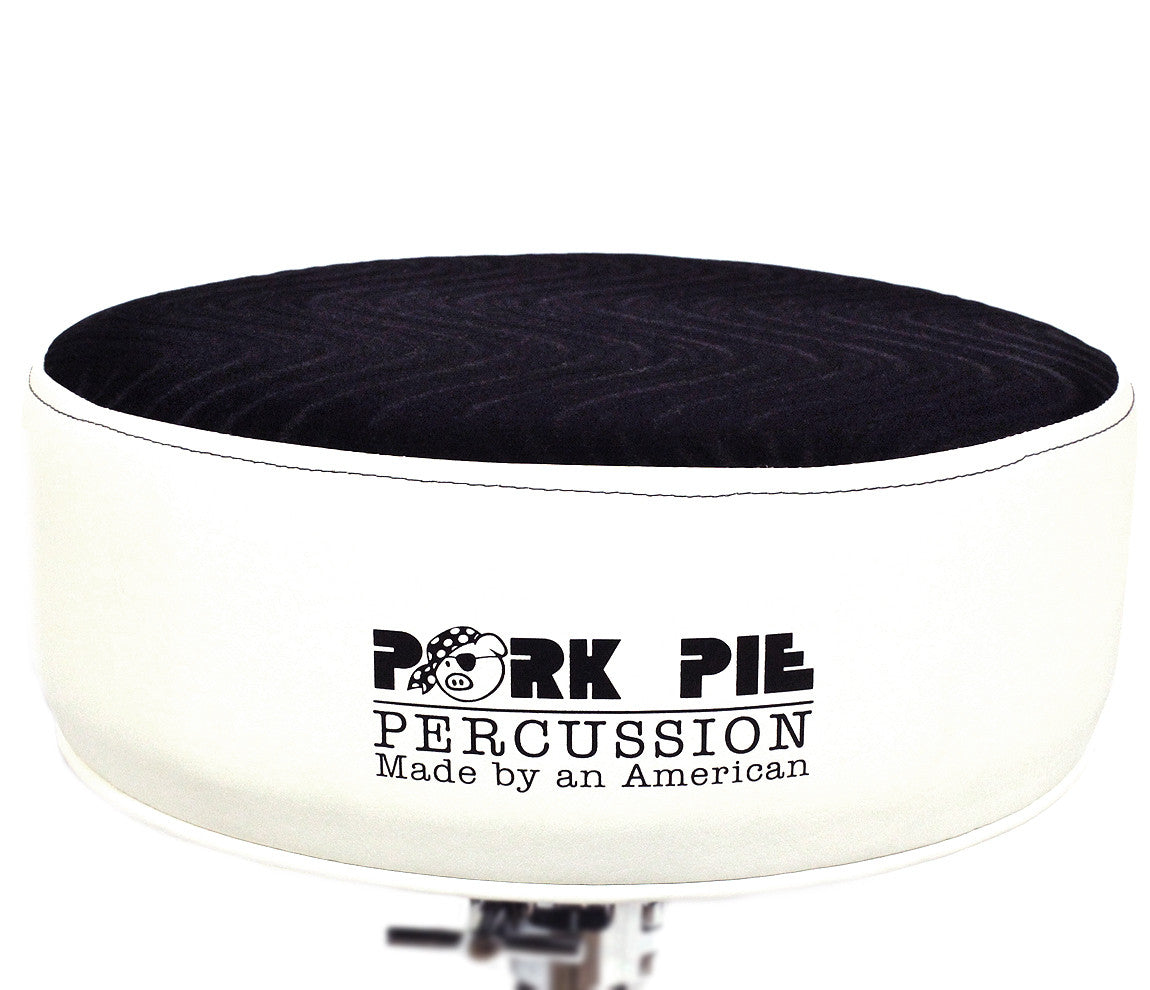 Pork Pie round seat drum throne