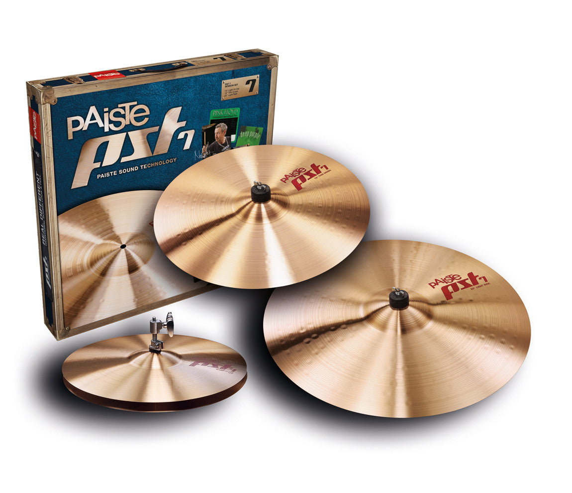 Paiste PST7 Three Piece Session Cymbal Set