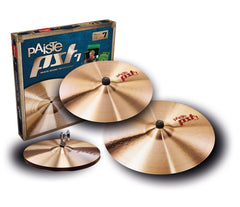Paiste PST7 Three Piece Universal Cymbal Set
