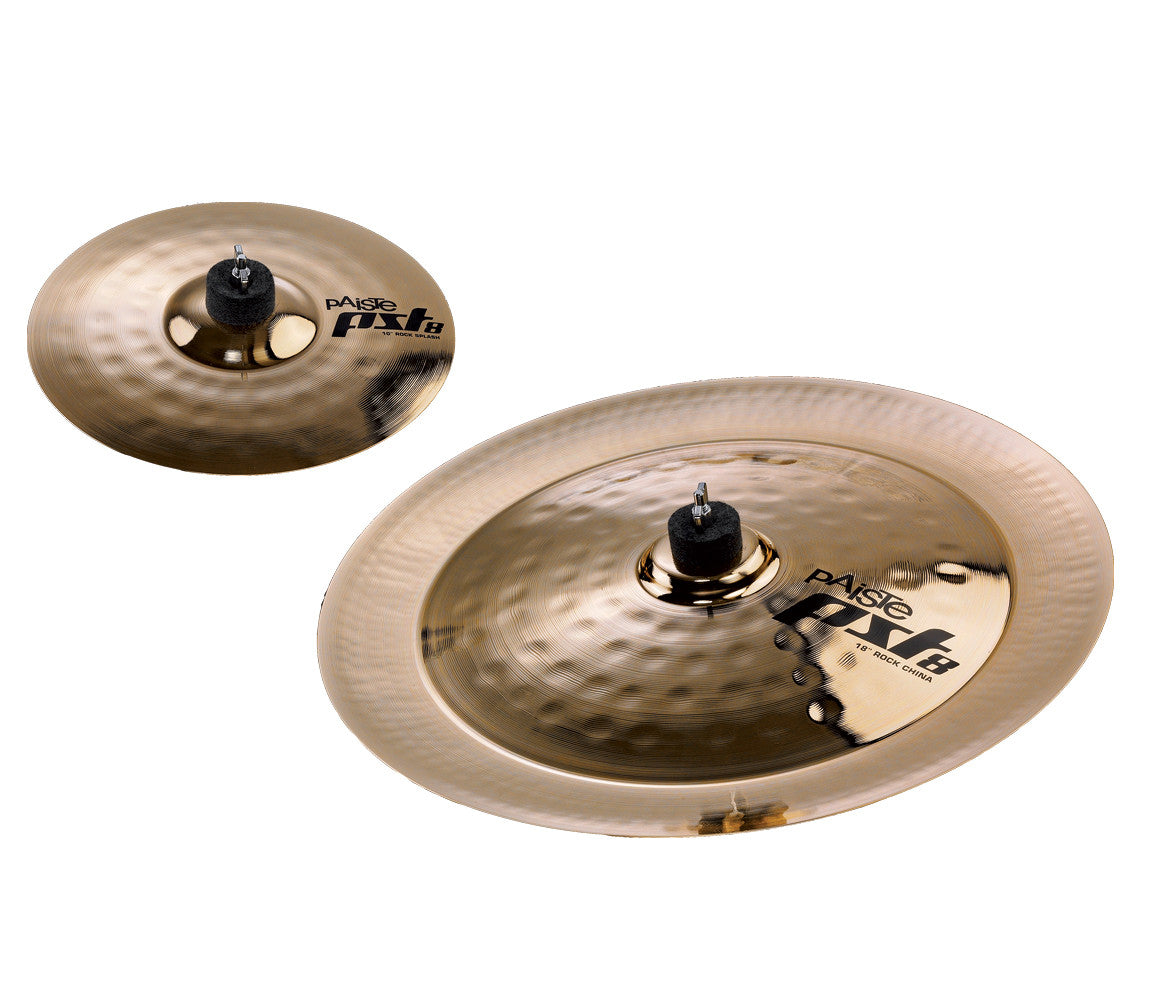 Paiste PST8 Rock Effects Cymbal Pack