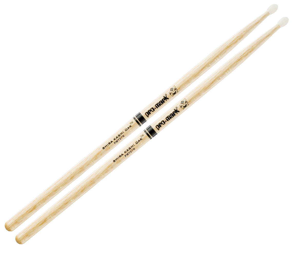 Pro-Mark Shira Kashi White Oak 727 Nylon Tip Drumsticks (PW727N)