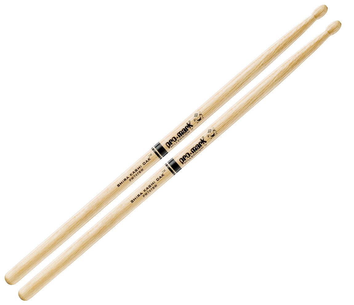 Pro-Mark Shira Kashi White Oak 747B 'Super Rock' Drumsticks (PW747BW)