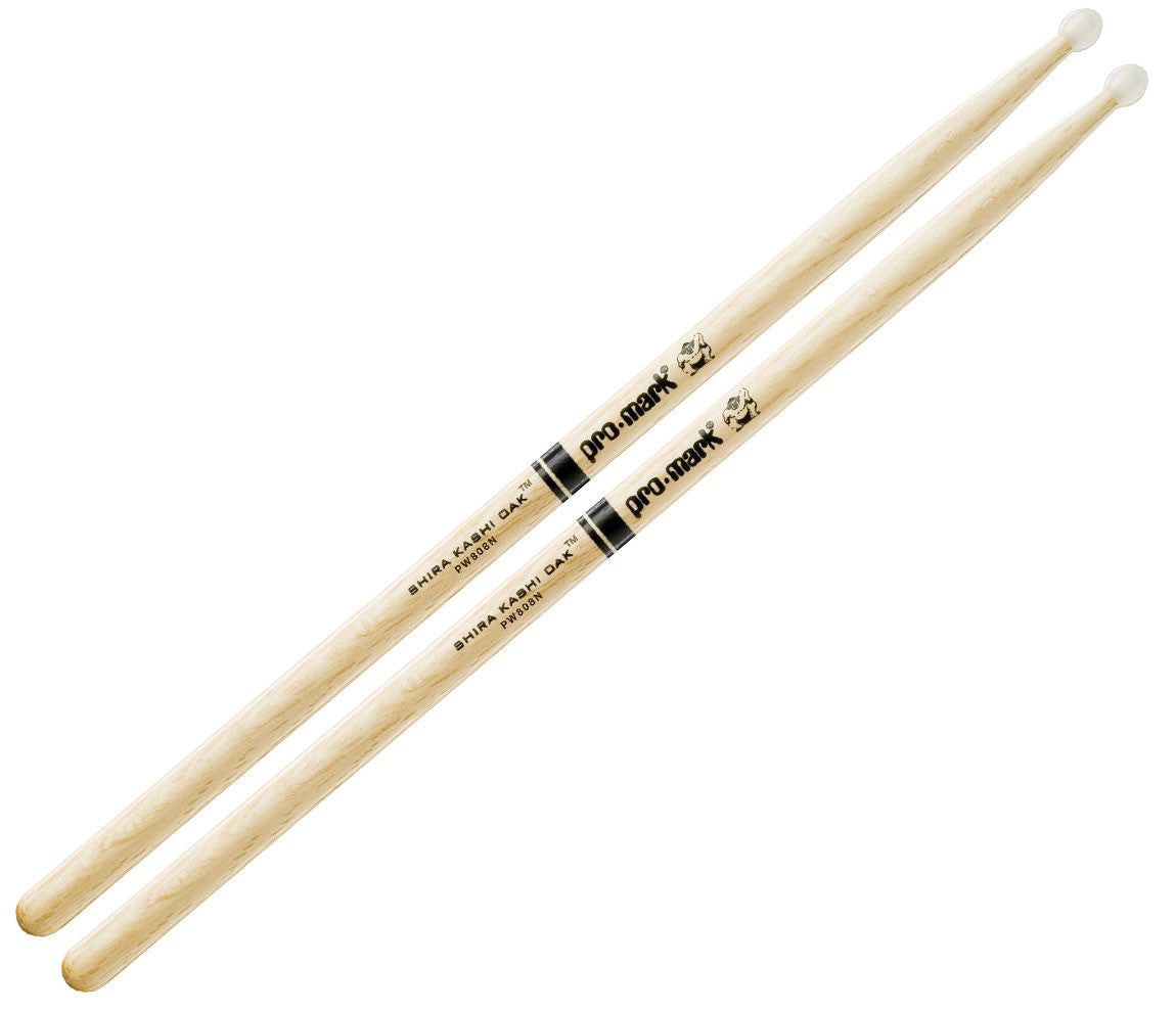 Pro-Mark Shira Kashi White Oak 808 Nylon Tip Drumsticks (PW808N)