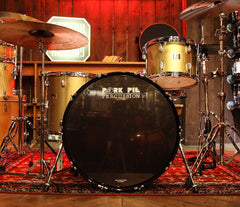 Pork Pie 'The Little Squealer' 3-Piece Drum Kit in Gold Champagne Lacquer