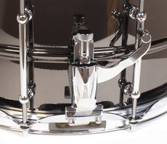Big Black Brass Snare Drum
