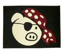 Pork Pie 4' x 6' Drum Rug