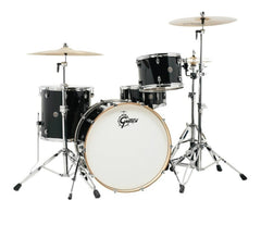 CT1-R444-PB Piano Black Catalina Club Drum Kit