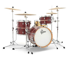 Gretsch Renown Maple 3-piece BeBop Shell Pack in Satin Walnut / Pearl Inlay