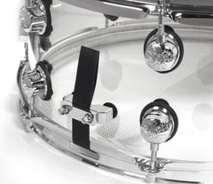 Natal Arcadia Snare Drum in Transparent Clear Acrylic