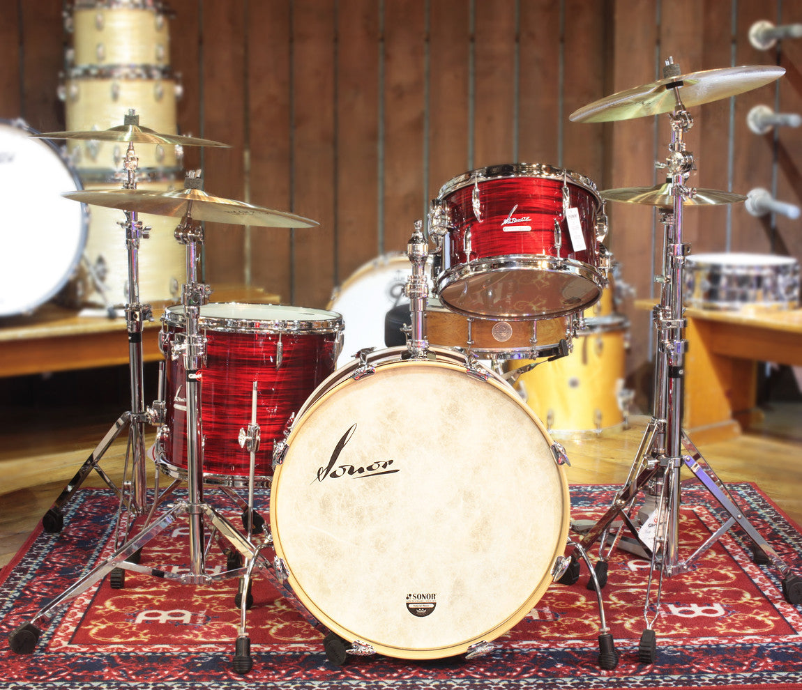 Sonor Vintage Series 3-Piece Shell Pack in Red Oyster