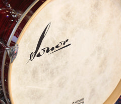 Sonor Vintage Red Oyster Bass Drum