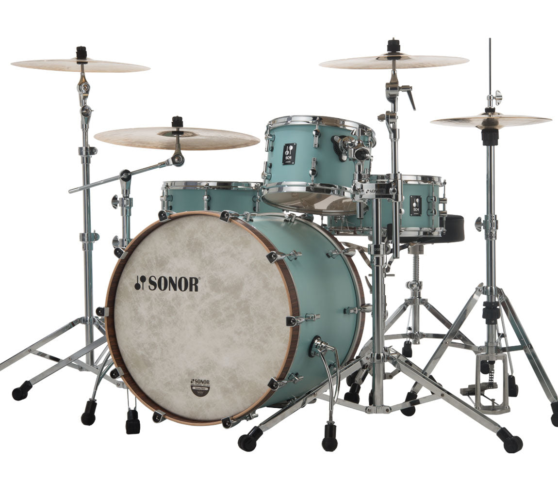 Sonor SQ1 320 Set NM GTB 3 Piece Shell Pack in Cruiser Blue, Sonor, Sonor SQ1 Series, Acoustic Drum Kits, Drum Kits, Cruiser Blue, 3-Piece