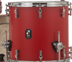 Sonor SQ1 322 Set NM GTB 3 Piece Shell Pack in Hot Rod Red, Sonor, Sonor SQ1 Series, Drum Kits, Acoustic Drum Kits, 3-Piece, Hot Rod Red Finish