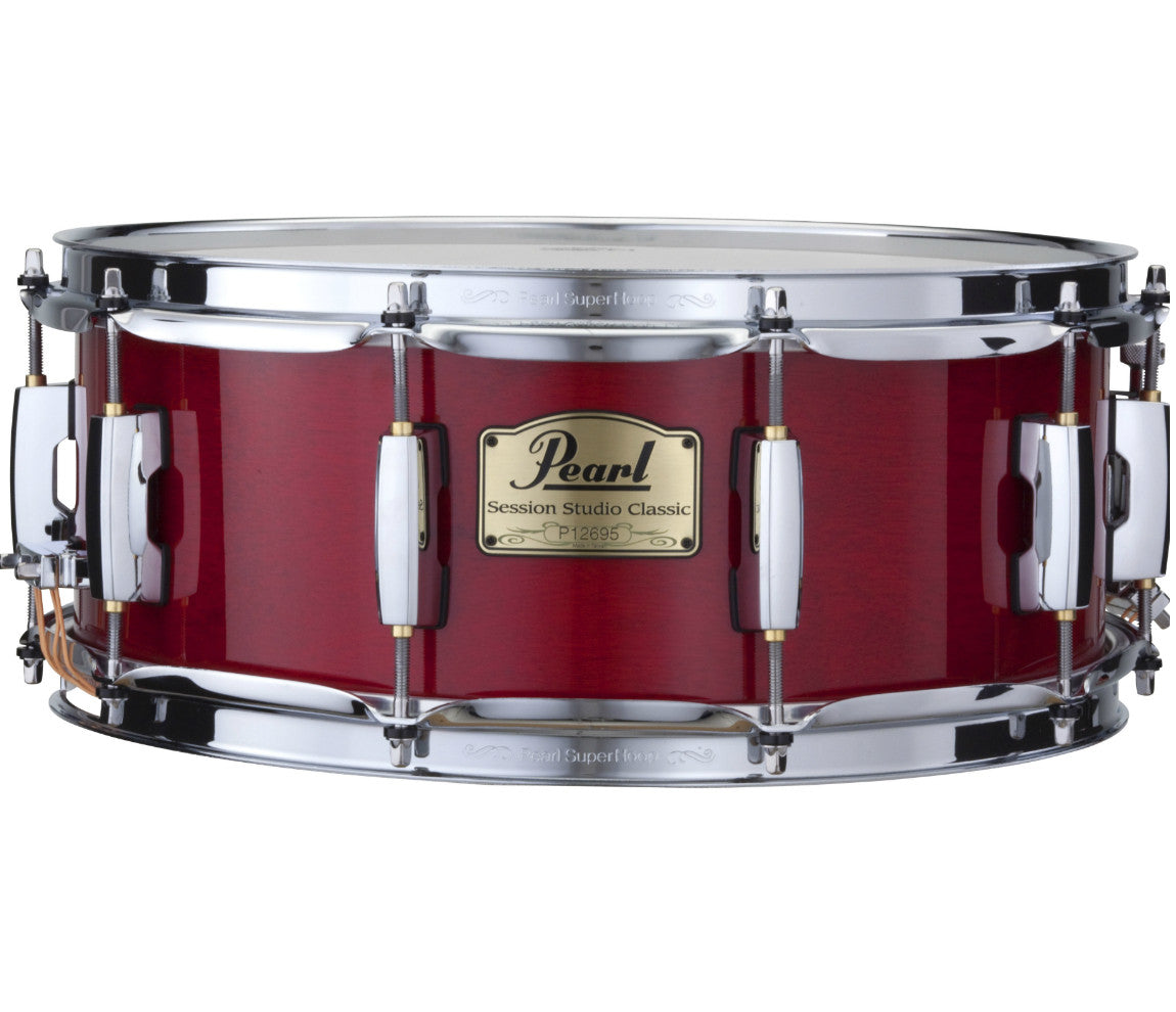 Pearl Sequoia Red Snare Drum