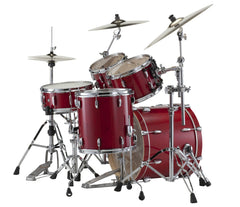 Pearl Session Classic Sequoia Red Fusion Drum Kit