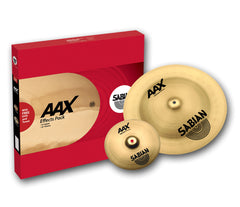 SABIAN AAX Effects Pack, Sabian, Sabian AAX Series, Effects Cymbals, Cymbal Sets, Cymbal Box Sets