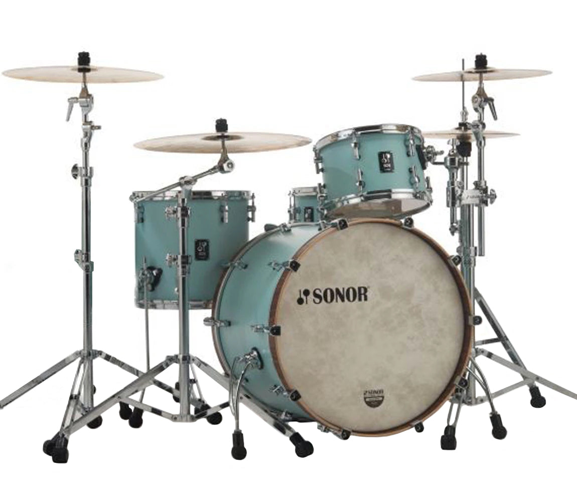 Sonor SQ1 322 Set NM GTB 3 Piece Shell Pack in Cruiser Blue