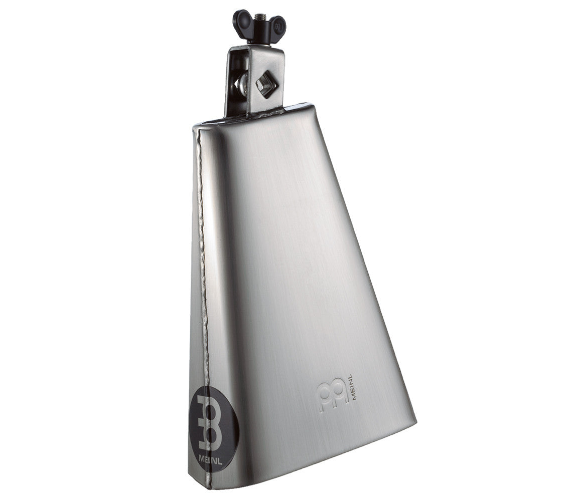 Meinl 8 inch Big Mouth Hand Brushed Steel Cowbell