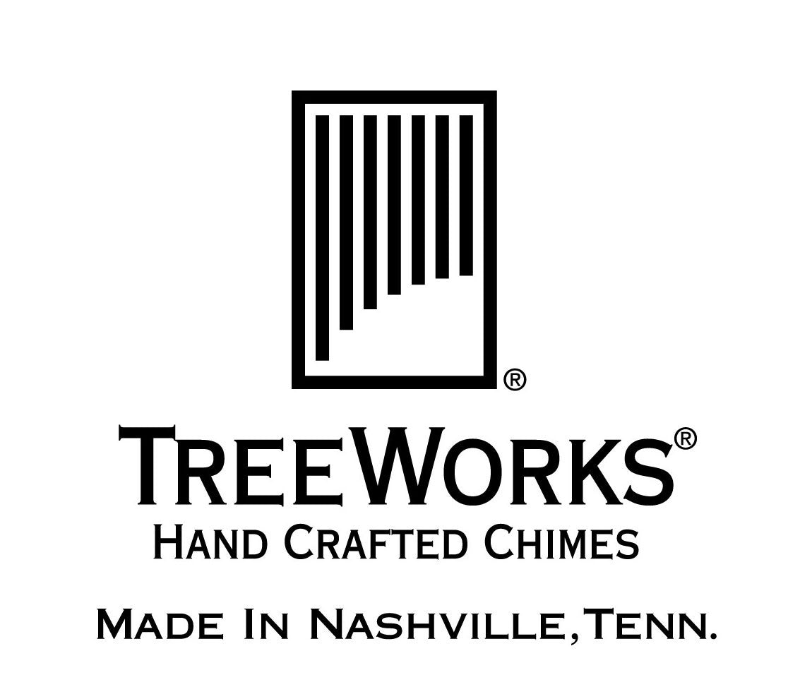 TreeWorks Handheld 3 Tone Chime with Beater, TreeWorks, Hand Percussion, Percussion Instruments, Chimes and Bells