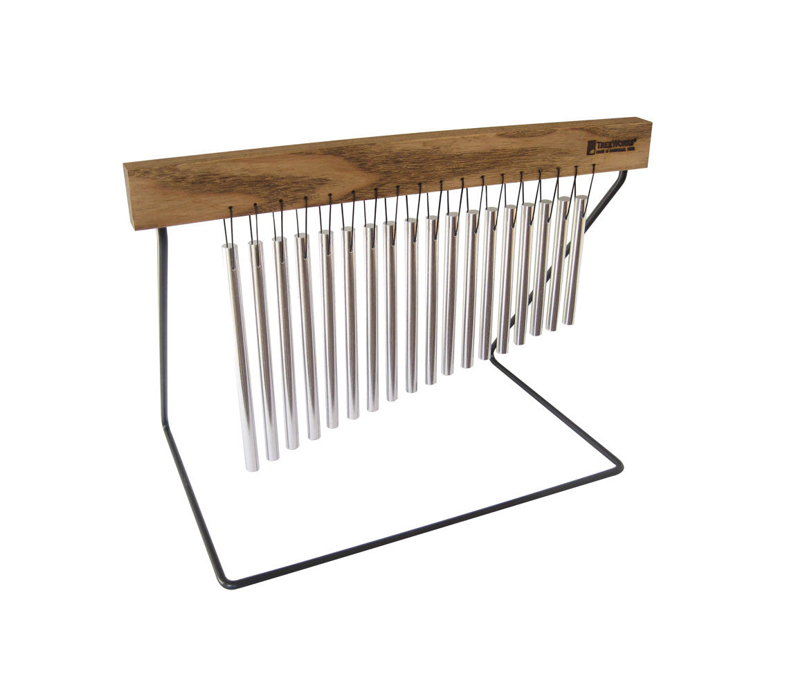 TreeWorks Medium Table Top Chime with Wire Stand, TreeWorks, Hand Percussion, Chimes & Bells, Percussion Instruments