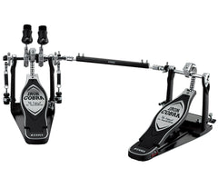 TAMA Iron Cobra Twin Bass Drum Pedal - w/Case - Left Footed