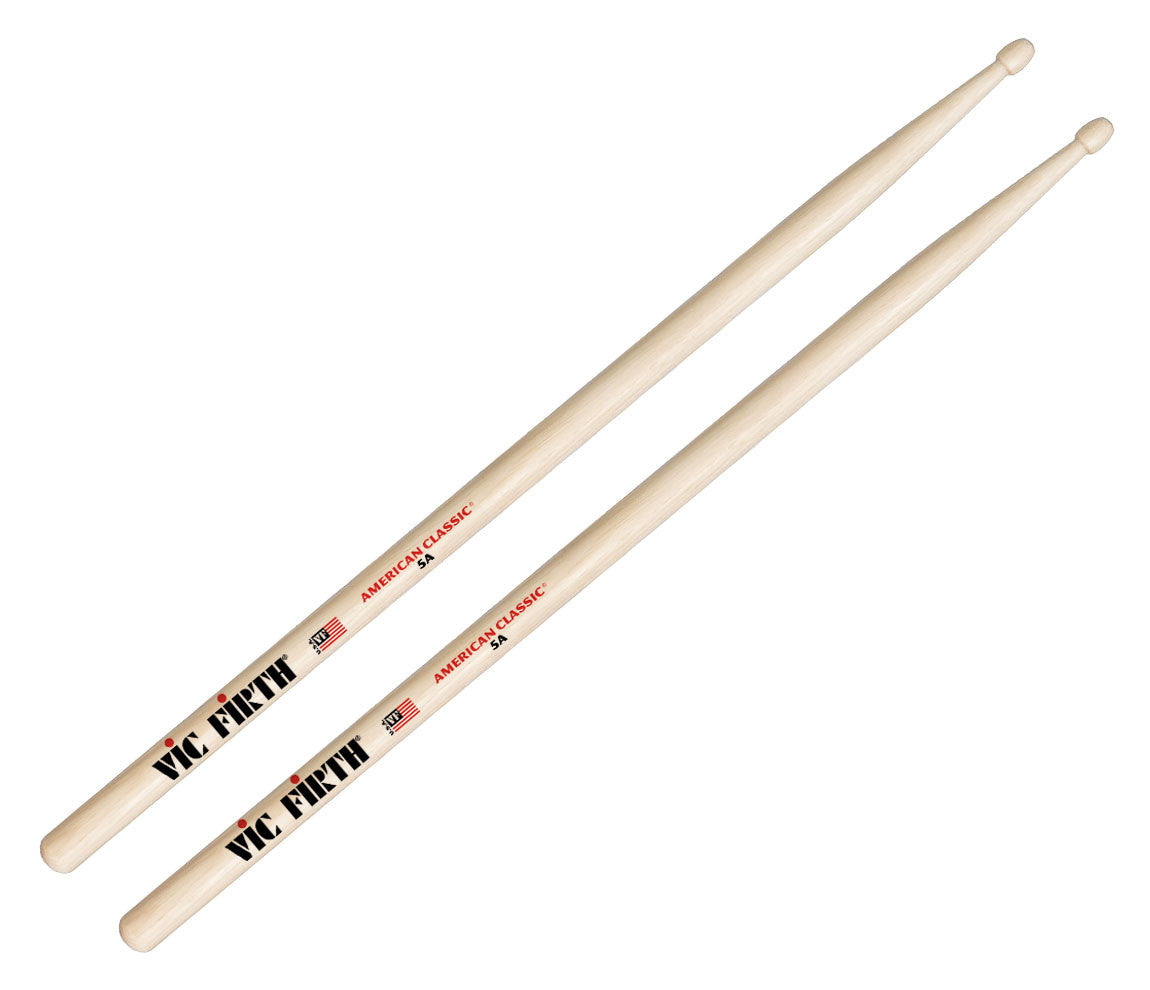 vic firth american classic 5a wood tip drumsticks drum shop. Black Bedroom Furniture Sets. Home Design Ideas