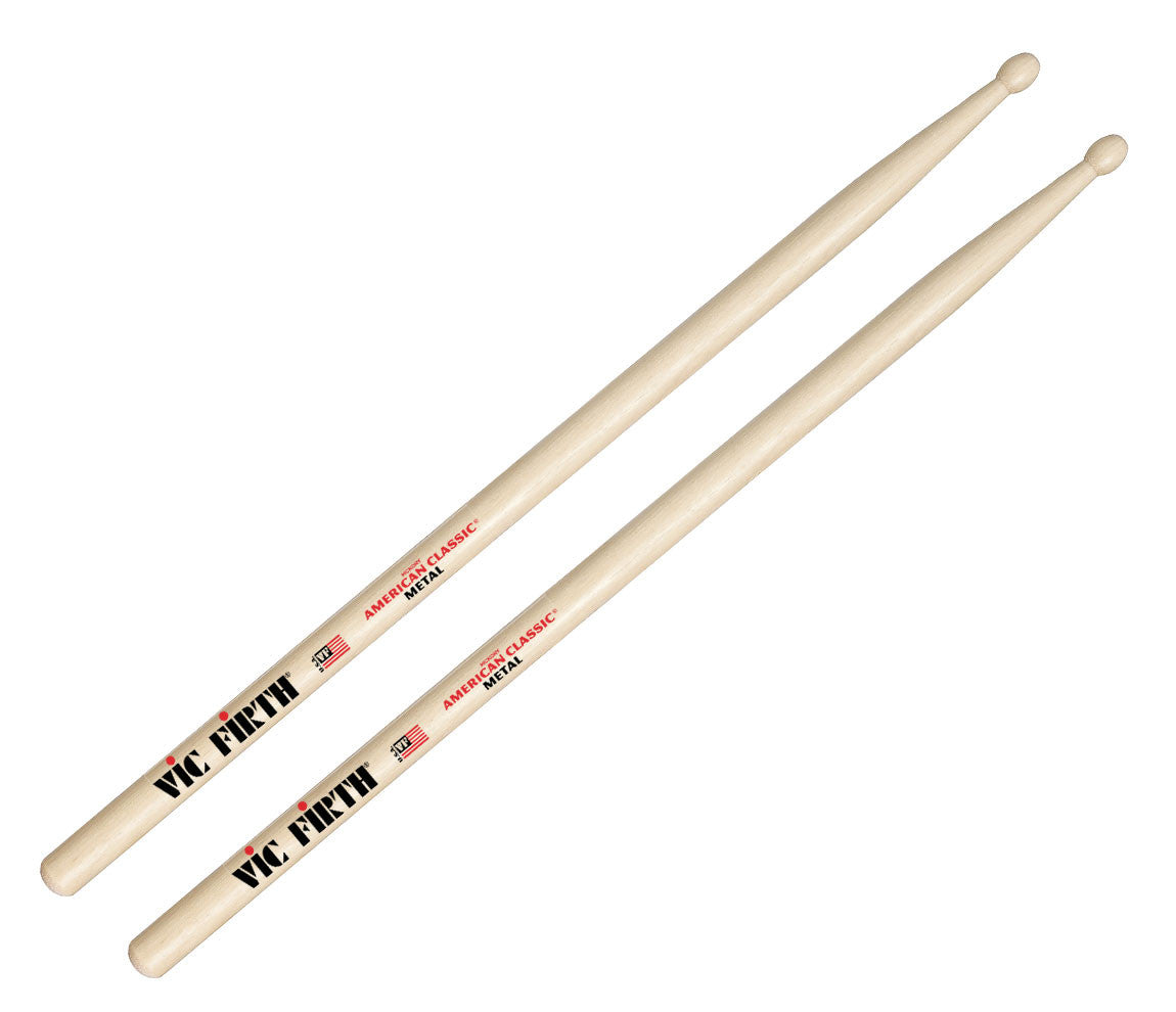 Vic Firth American Classic Metal Wood Tip Drumsticks