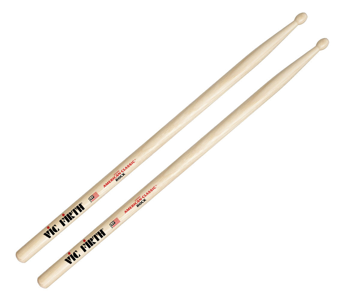 Vic Firth American Classic Rock Wood Tip Drumsticks