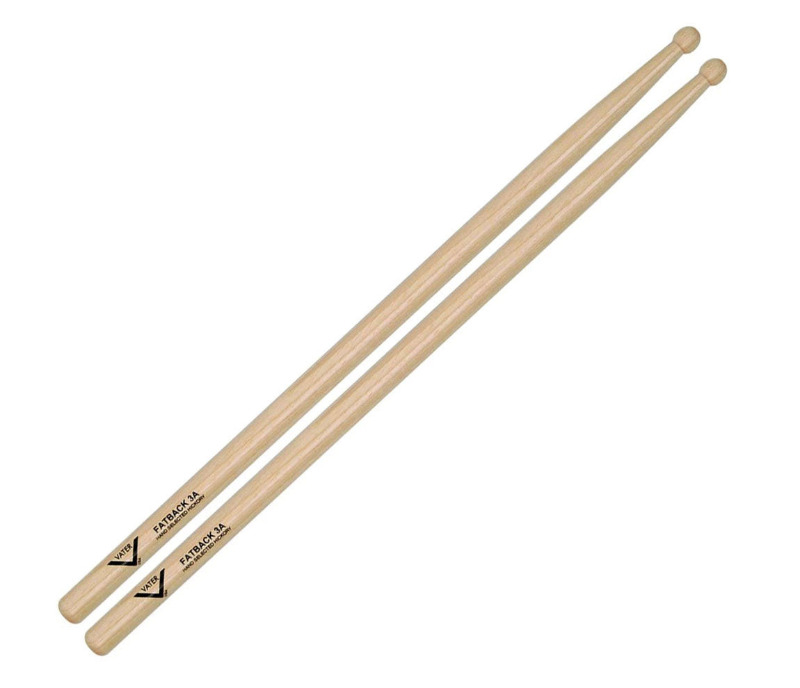 Vater American Hickory Fatback 3A Drumsticks