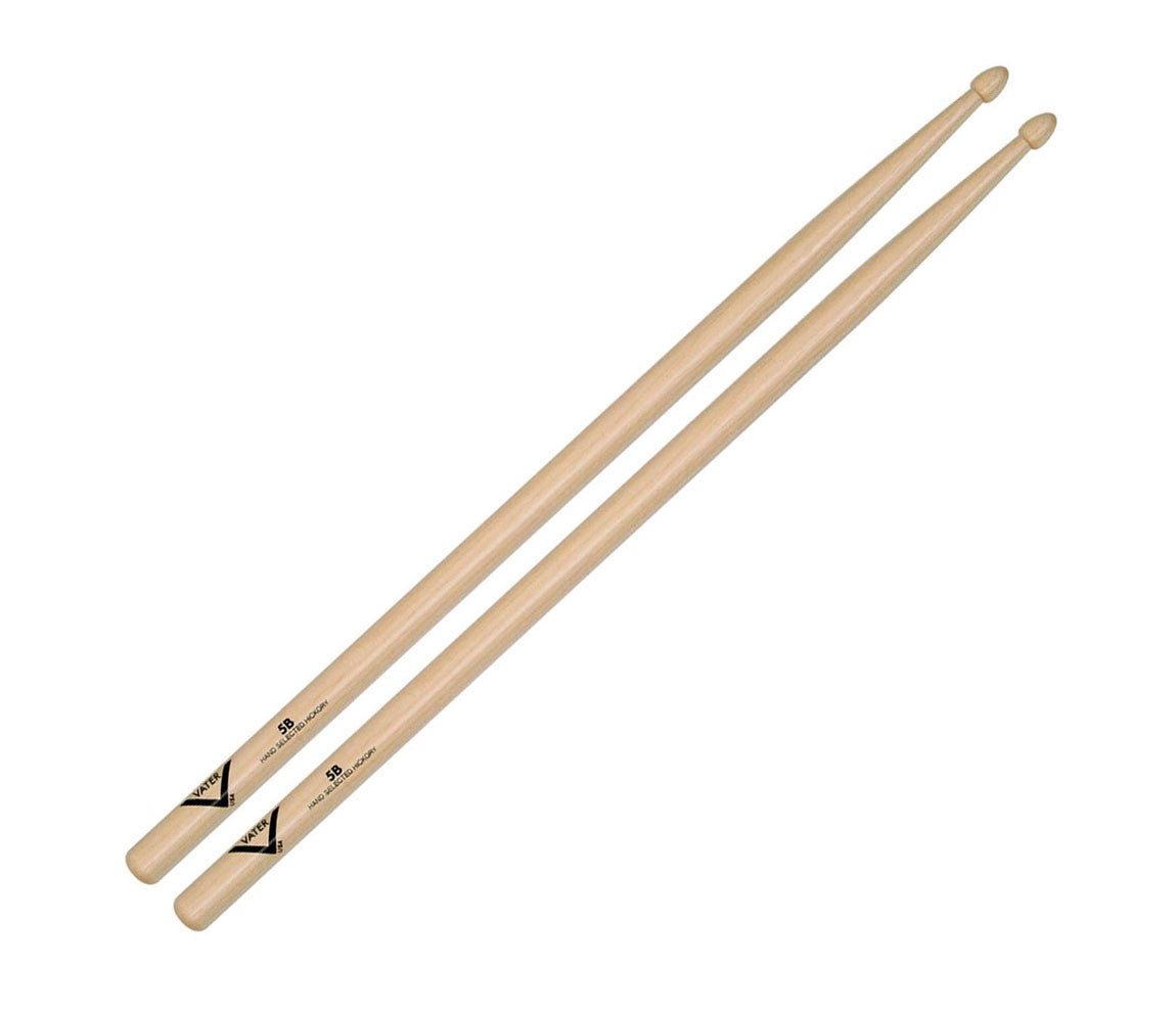 Vater American Hickory 5B Drumsticks