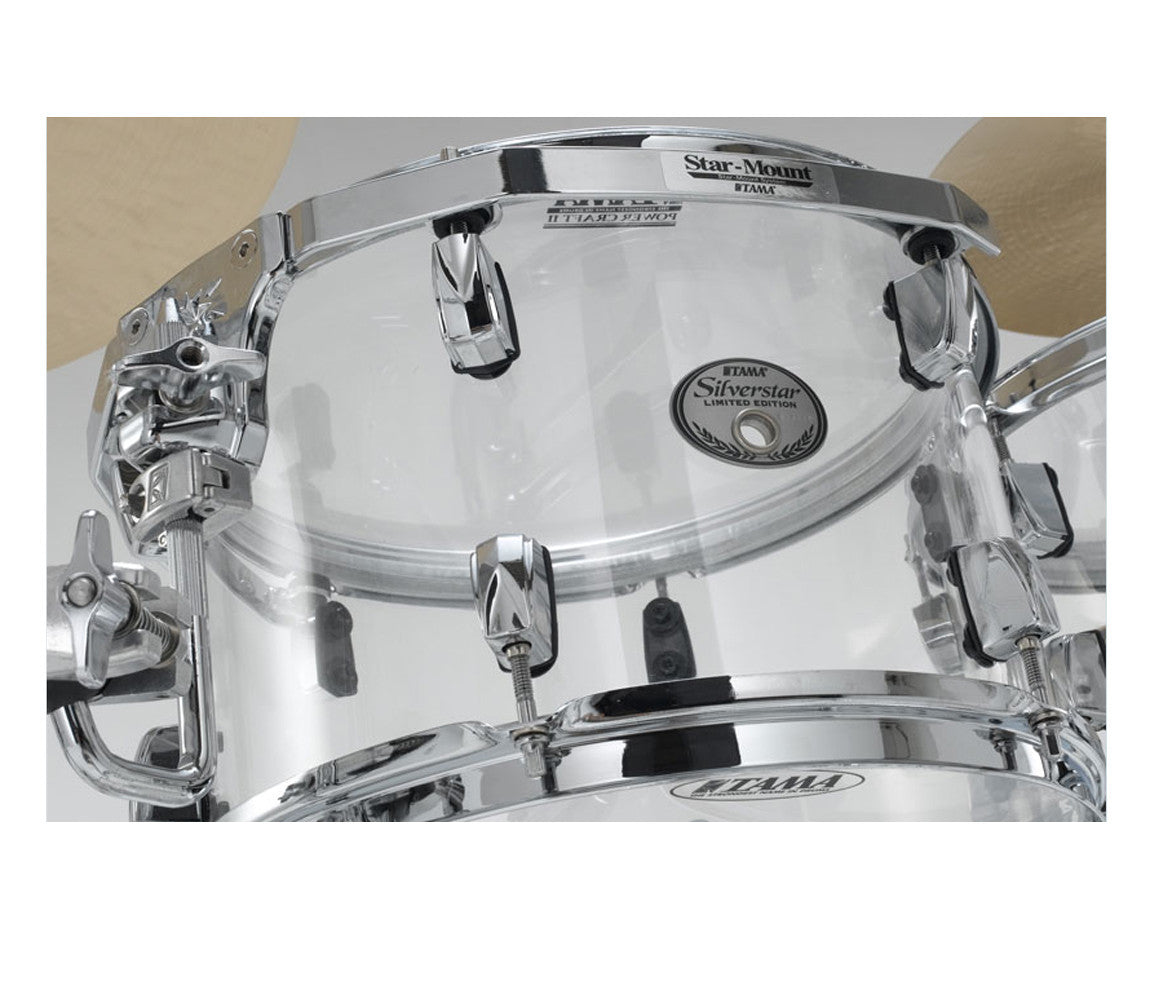 Tama Silverstar Mirage Limited Edition 6-Piece Shell Pack in Crystal Ice