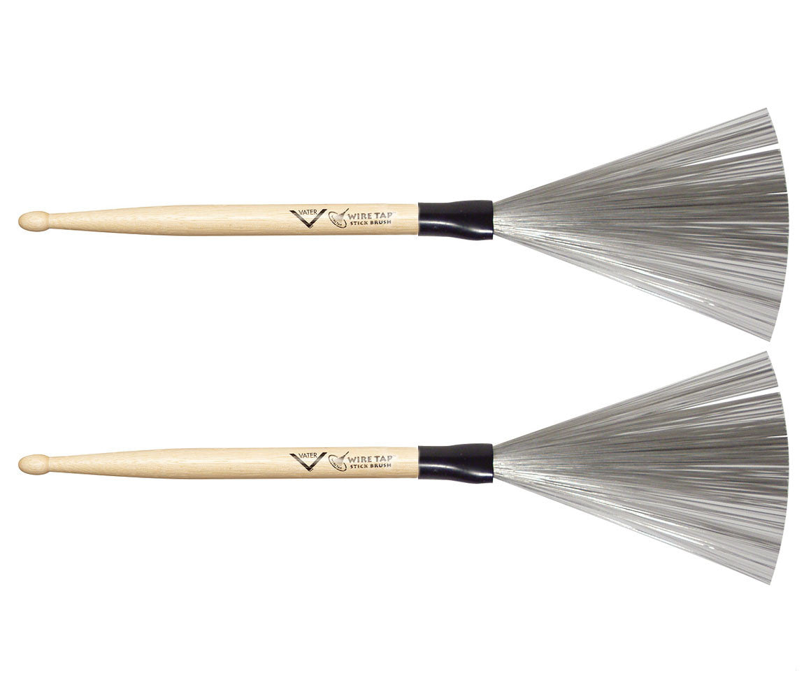 Vater Wire Tap Drumstick Brush