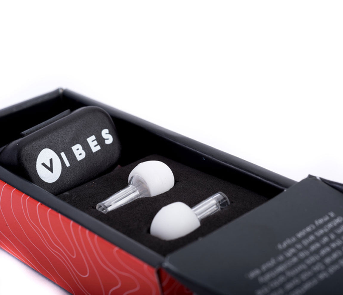 Vibes Hi-Fidelity Ear Plugs, Vibes, Ear Plugs, Ear Protection, Clear