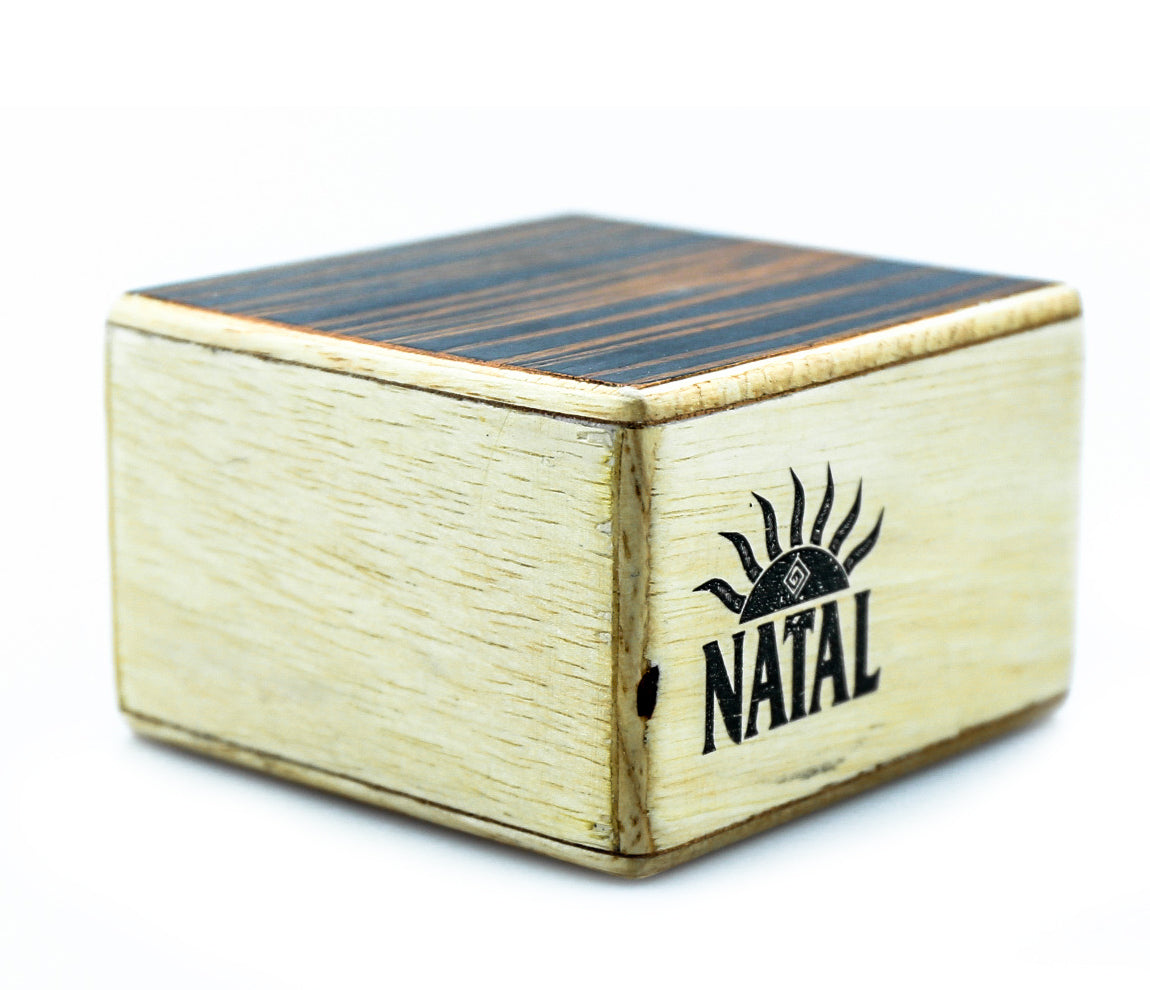 Natal WSK-SQ-E Wood Shaker in Ebony, Wood Shaker, Vendor: Natal, Type: Shakers & Maracas, Finish: Ebony, WSK-SQ-E