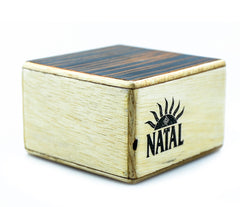 Natal WSK-SQ-E Square Wood Shaker in Ebony