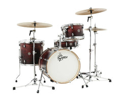 Satin Antique Fade Catalina Club drum kit