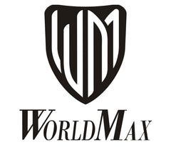 WorldMax Bass Drum Spurs, WorldMax, Other Parts and Accessories, Black, Chrome, Accessories