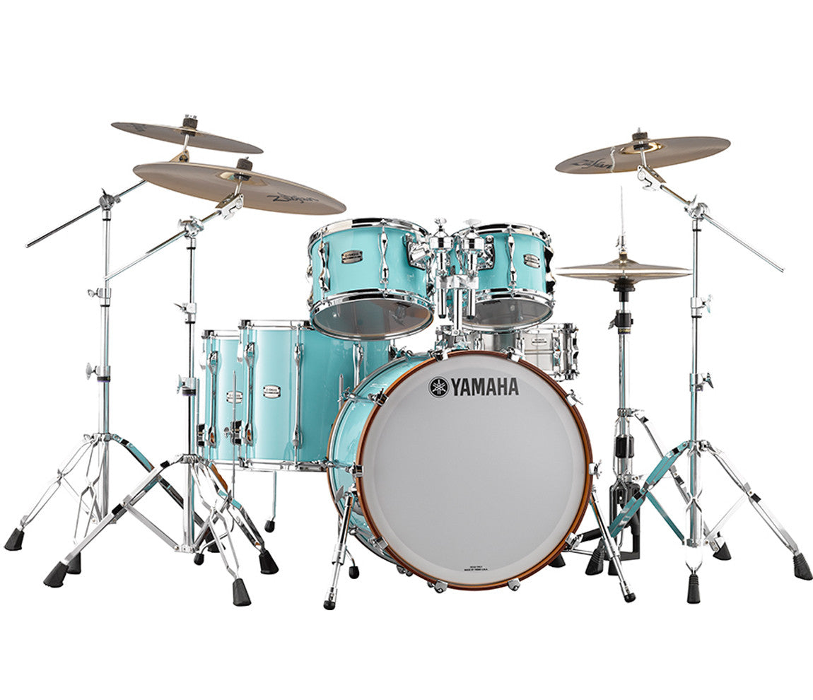 Yamaha 9000 Recording Custom 5-Piece Shell Pack in Surf Green