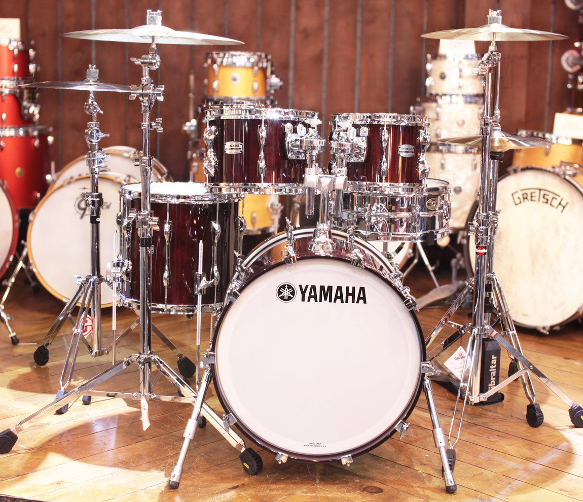 Yamaha 9000 Recording Custom 4-Piece Shell Pack in Classic Walnut