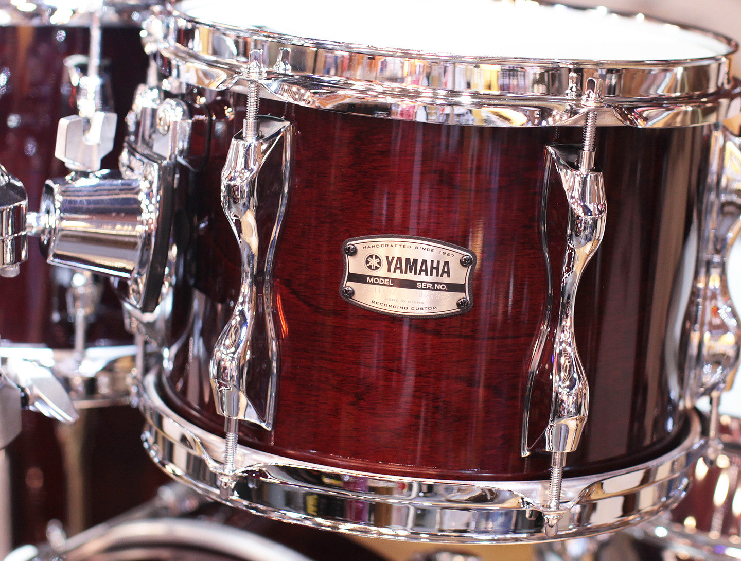 Yamaha 9000 Recording Custom Classic Walnut Drum Kit