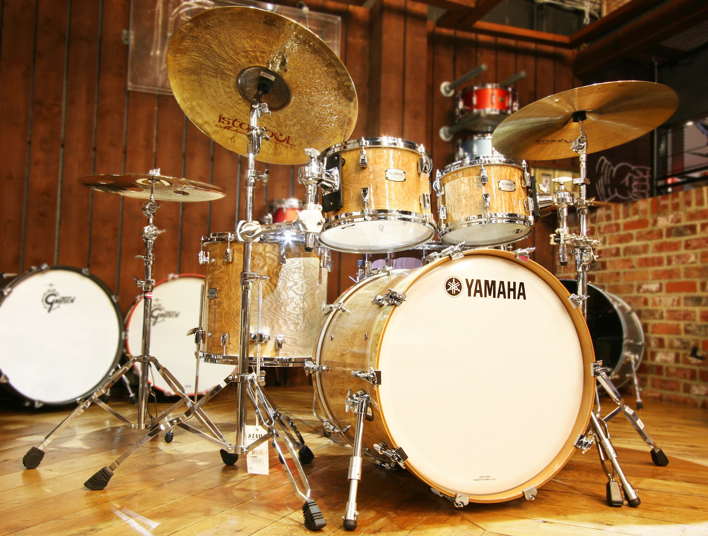 Yamaha Phx Phoenix 4 Piece Shell Pack In Textured Natural
